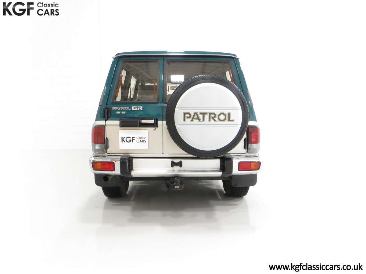 1998 A Formidable Nissan Patrol GR SE Auto 5-door 7 seater SOLD (picture 10 of 30)