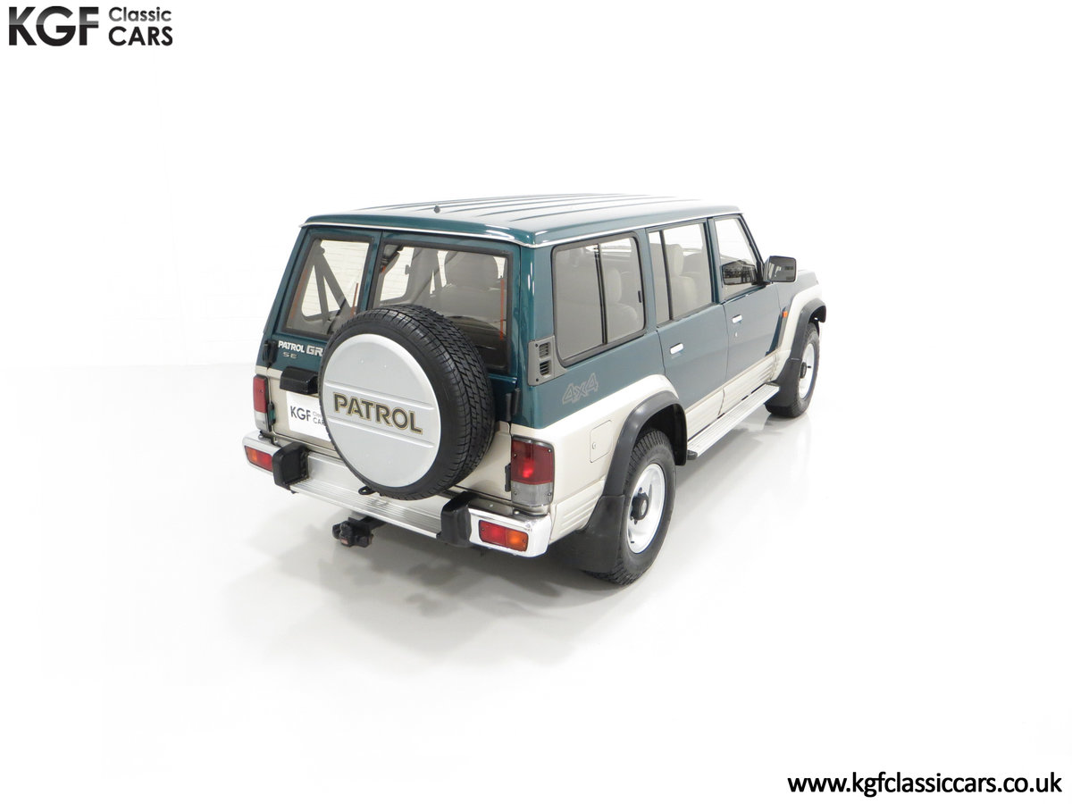 1998 A Formidable Nissan Patrol GR SE Auto 5-door 7 seater SOLD (picture 12 of 30)