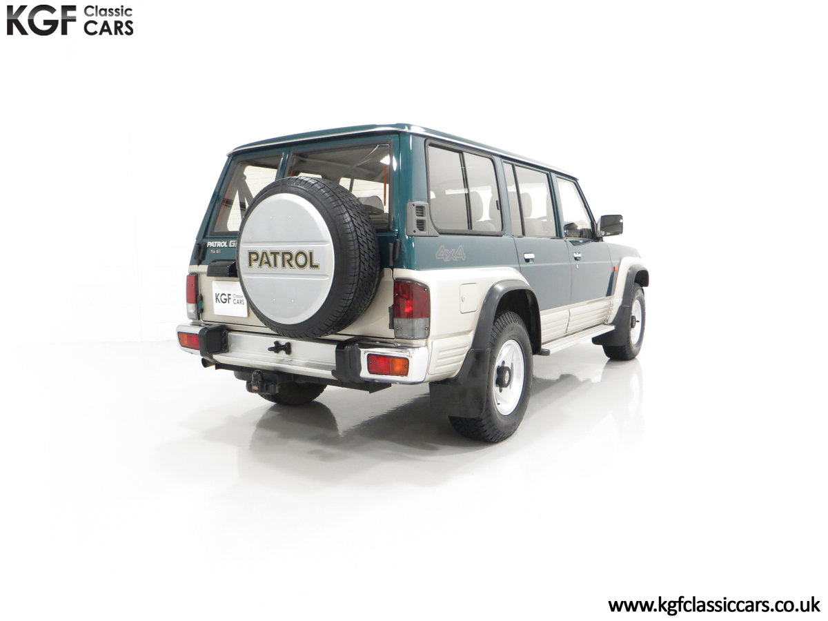 1998 A Formidable Nissan Patrol GR SE Auto 5-door 7 seater SOLD (picture 13 of 30)