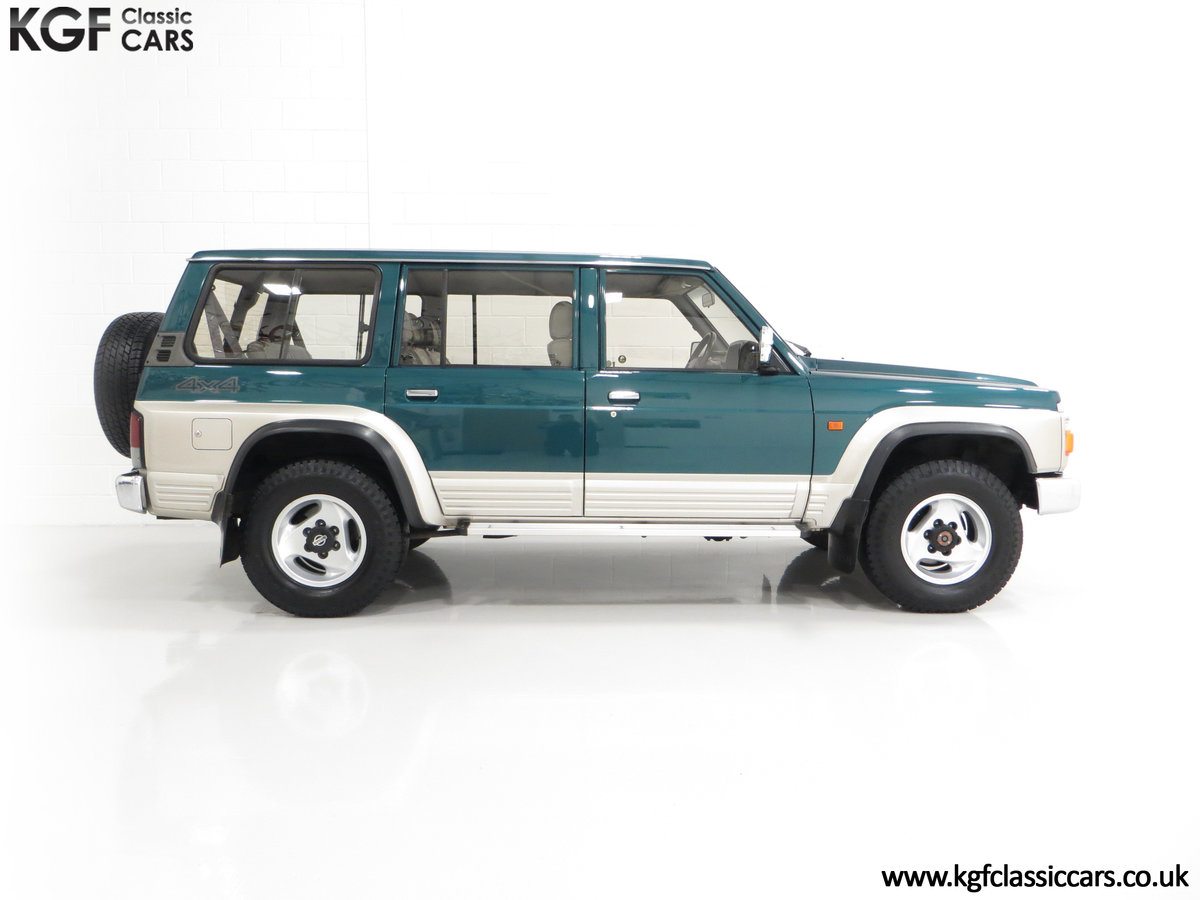 1998 A Formidable Nissan Patrol GR SE Auto 5-door 7 seater SOLD (picture 14 of 30)