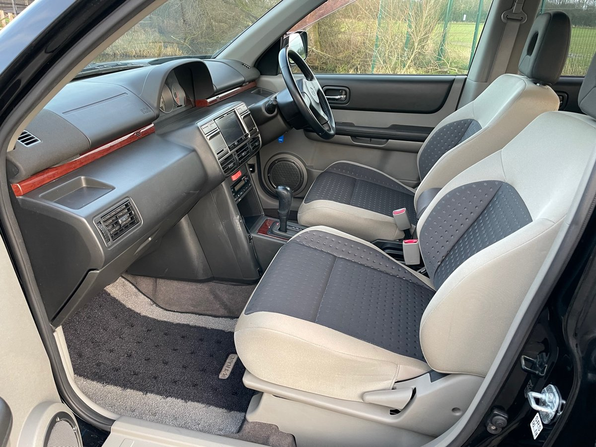 NISSAN X-TRAIL RARE 2001 2.0 GT TURBO AUTOMATIC * LOW MILEAG For Sale (picture 3 of 6)