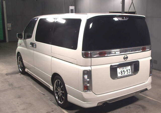 2003 NISSAN ELGRAND 3.5 XL FULL LEATHER * TWIN SUNROOFS * For Sale (picture 2 of 6)