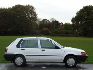 Picture of 1989 Nissan Sunny GX 5 Door.. Only 28,800 Genuine Miles.. SOLD