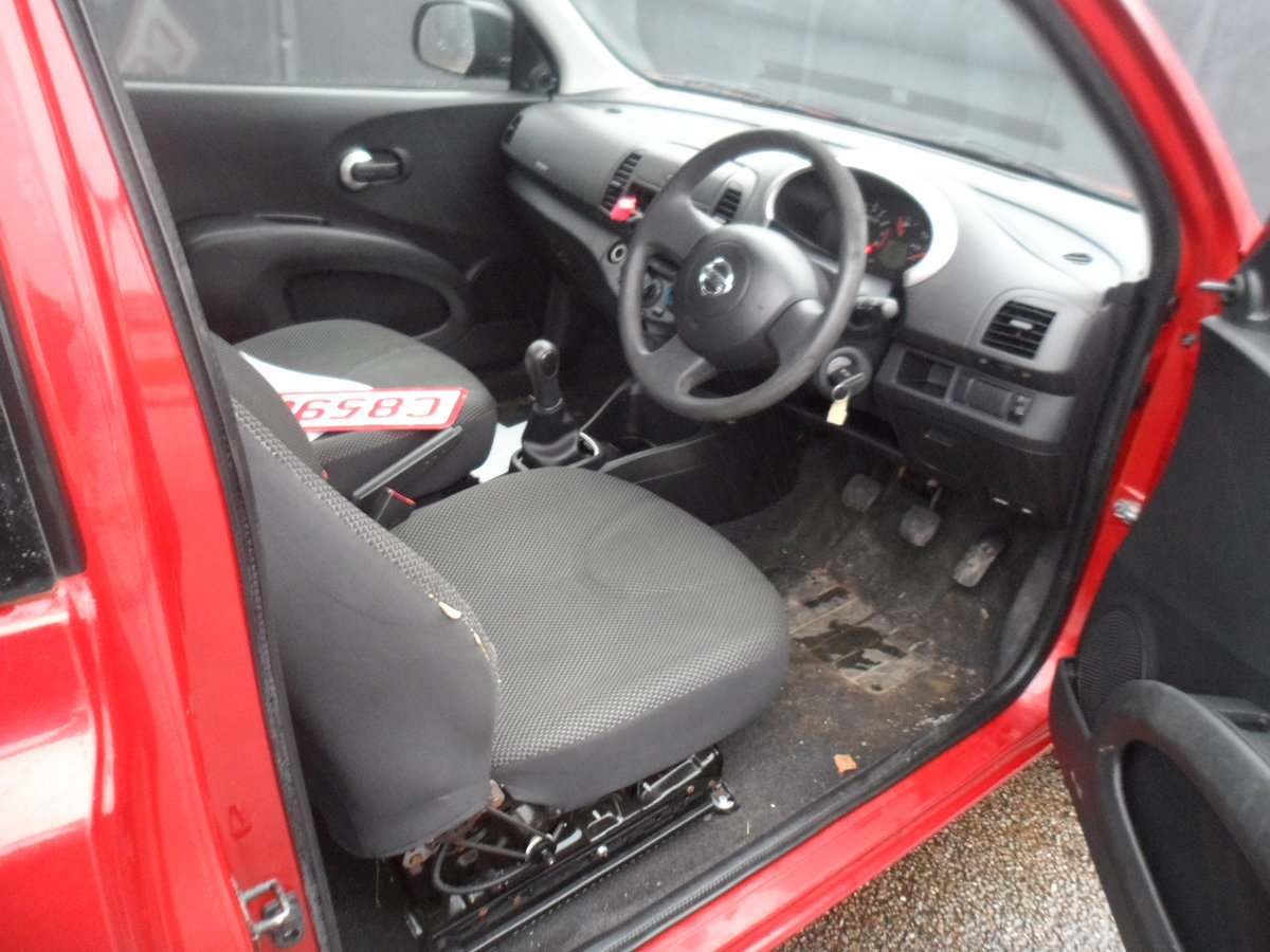 2010 SOUND DRIVER THIS MICRA PETROL 5 SP 3 DOOR A GOOD RUNAROUND For Sale (picture 7 of 8)