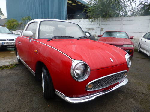 1991 Nissan Figaro 1.0 Turbo Classic Currently Restoring For Sale (picture 1 of 6)