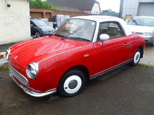 1991 Nissan Figaro 1.0 Turbo Classic Currently Restoring For Sale (picture 3 of 6)