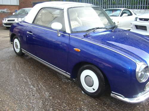 1991 Nissan Figaro 1.0 Turbo Classic Currently  Restoring Classic For Sale (picture 1 of 6)