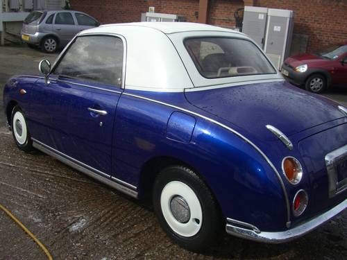 1991 Nissan Figaro 1.0 Turbo Classic Currently  Restoring Classic For Sale (picture 3 of 6)