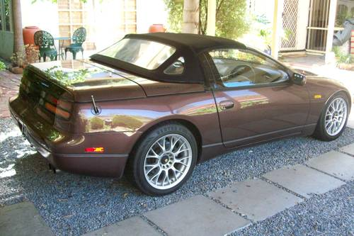 1993 Nissan 300zx convertible 49,900 genuine miles For Sale (picture 2 of 6)
