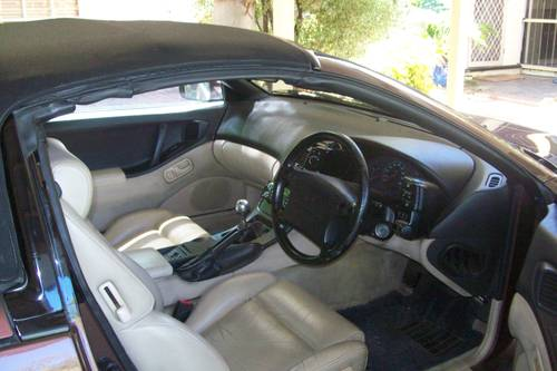 1993 Nissan 300zx convertible 49,900 genuine miles For Sale (picture 3 of 6)