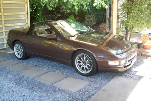 1993 Nissan 300zx convertible 49,900 genuine miles For Sale (picture 6 of 6)