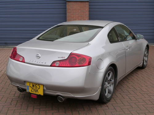 2004 Nissan Skyline 350 GT 3.5i V6 Auto  For Sale (picture 3 of 6)