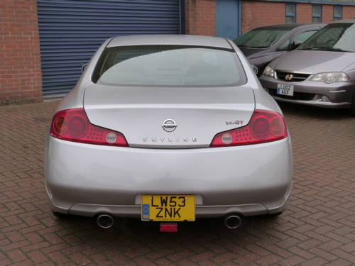 2004 Nissan Skyline 350 GT 3.5i V6 Auto  For Sale (picture 6 of 6)