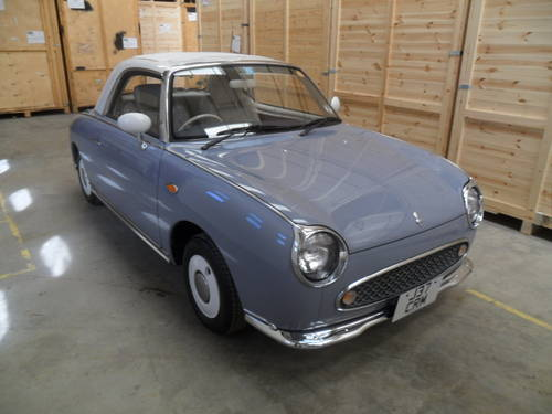 1991 ULTRA RARE LAPIS GREY FIGARO (COLLECTORS CAR)  For Sale (picture 1 of 6)