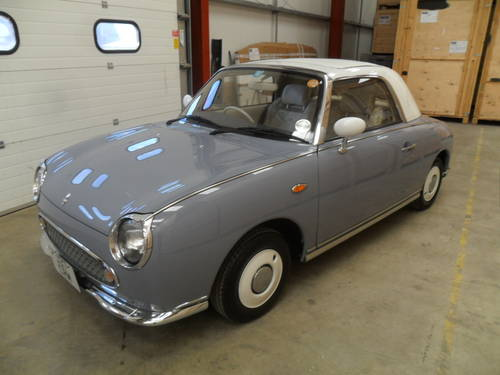 1991 ULTRA RARE LAPIS GREY FIGARO (COLLECTORS CAR)  For Sale (picture 2 of 6)