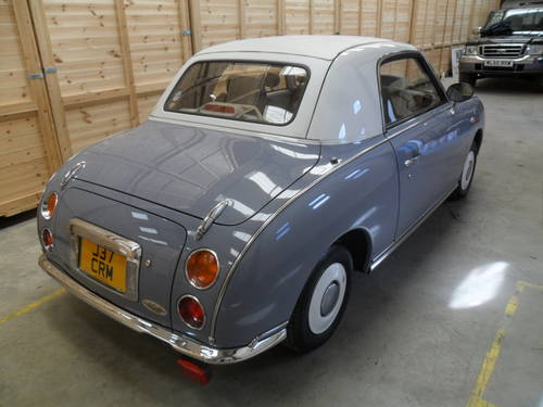 1991 ULTRA RARE LAPIS GREY FIGARO (COLLECTORS CAR)  For Sale (picture 3 of 6)