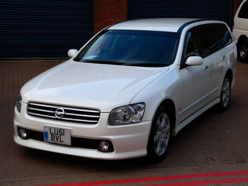 2001 Nissan Stagea RS Four 4WD 2.5i Turbo Auto For Sale (picture 1 of 6)