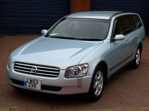 2003 Nissan Stagea RS Four 4WD 2.5i Auto For Sale (picture 1 of 6)