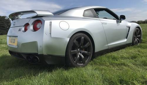 2009 Nissan GT-R Black Edition S-A - 4,750 miles since new! SOLD by Auction (picture 2 of 6)