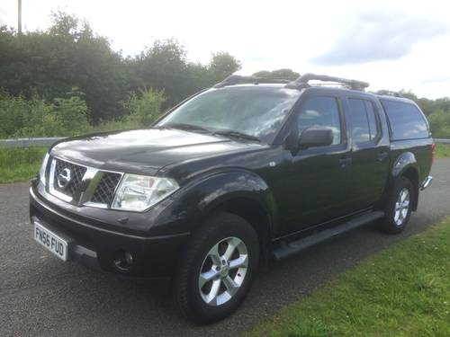 2006 NISSAN NAVARA OUTLAW AUTO 1 LADY OWNER LOW MILEAGE SOLD (picture 1 of 6)