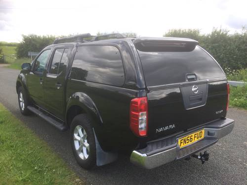 2006 NISSAN NAVARA OUTLAW AUTO 1 LADY OWNER LOW MILEAGE SOLD (picture 3 of 6)