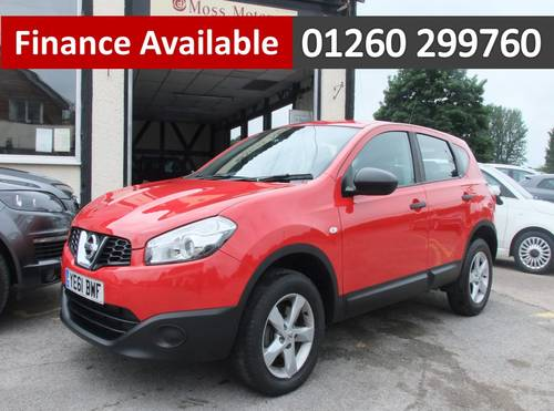 2011 NISSAN QASHQAI 1.5 VISIA DCI 5DR Manual SOLD (picture 1 of 6)
