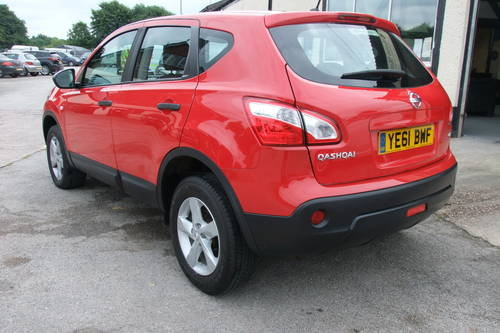 2011 NISSAN QASHQAI 1.5 VISIA DCI 5DR Manual SOLD (picture 3 of 6)