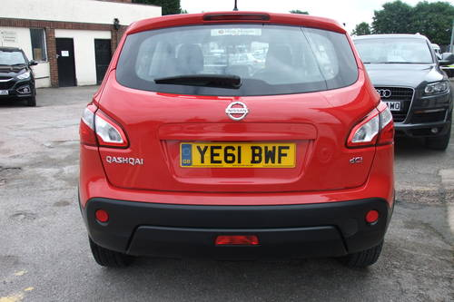 2011 NISSAN QASHQAI 1.5 VISIA DCI 5DR Manual SOLD (picture 5 of 6)