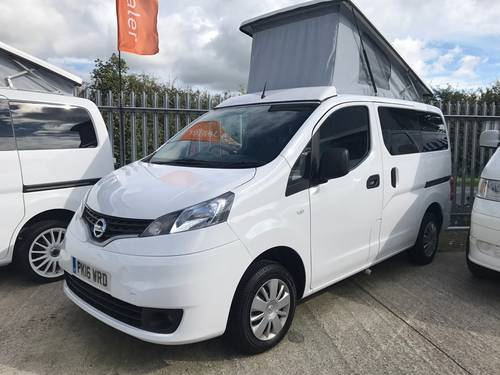 d371aa9ede ... 2016 Nissan NV200 1.5 dCi Acenta CAMPER VAN DELIVERY MILES For Sale  (picture 1 of ...