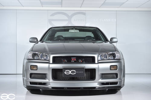 2001 Beautiful Nissan Skyline R34 GTR V Spec II - 39K Miles SOLD (picture 1 of 6)