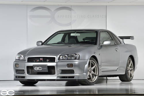 2001 Beautiful Nissan Skyline R34 GTR V Spec II - 39K Miles SOLD (picture 2 of 6)
