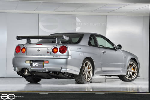 2001 Beautiful Nissan Skyline R34 GTR V Spec II - 39K Miles SOLD (picture 3 of 6)