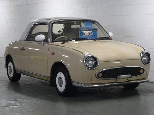 1991 Nissan Figaro 1.0 Turbo Retro Convertible Fresh Import 2dr  For Sale (picture 1 of 6)