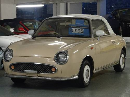 1991 Nissan Figaro 1.0 Turbo Retro Convertible Fresh Import 2dr  For Sale (picture 2 of 6)