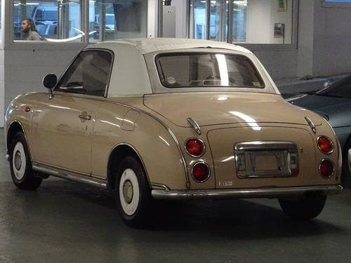 1991 Nissan Figaro 1.0 Turbo Retro Convertible Fresh Import 2dr  For Sale (picture 3 of 6)