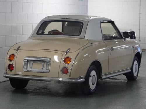 1991 Nissan Figaro 1.0 Turbo Retro Convertible Fresh Import 2dr  For Sale (picture 4 of 6)