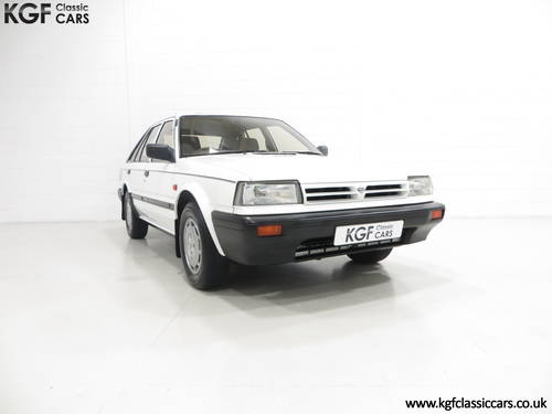 1989 A Nissan Bluebird Premium with 24,253 Miles and One Owner SOLD (picture 1 of 6)
