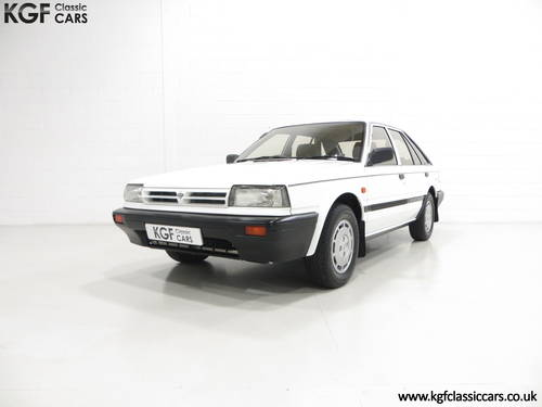 1989 A Nissan Bluebird Premium with 24,253 Miles and One Owner SOLD (picture 2 of 6)