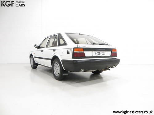 1989 A Nissan Bluebird Premium with 24,253 Miles and One Owner SOLD (picture 4 of 6)