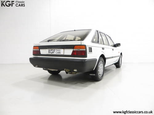 1989 A Nissan Bluebird Premium with 24,253 Miles and One Owner SOLD (picture 5 of 6)
