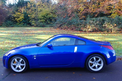 NISSAN 350Z GT SPEC.. UK CAR.. LOW MILES.. FSH.. TOP SPEC SOLD (picture 1 of 6)