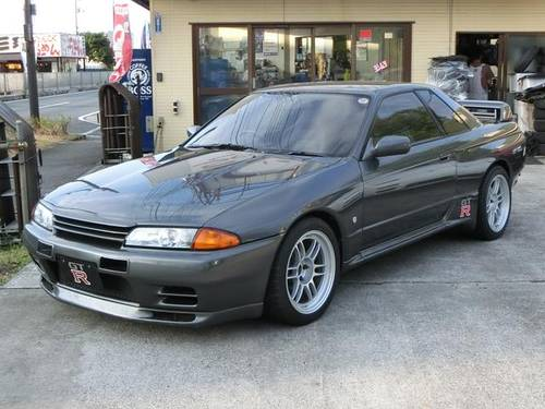 NISSAN SKYLINE GT-R (1990) 2600cc from JAPAN For Sale (picture 1 of 6)