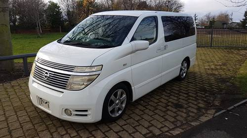 2003 NISSAN ELGRAND HIGHWAY STAR - FRESH IMPORT - VERY NICE SOLD (picture 1 of 6)