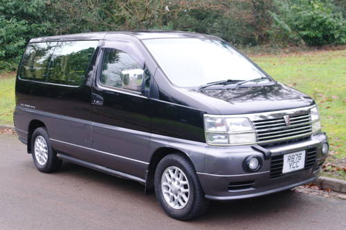 Nissan Elgrand 3.2 Diesel. Auto. 4x4 MPV. Bargain To CLEAR. SOLD (picture 1 of 6)