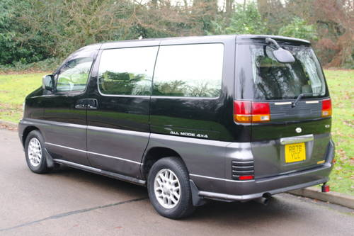 Nissan Elgrand 3.2 Diesel. Auto. 4x4 MPV. Bargain To CLEAR. SOLD (picture 6 of 6)