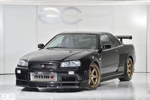 2001 Very Rare Nissan R34 GTR V Spec II - Genuine - Nismo R-Tune  SOLD (picture 2 of 6)