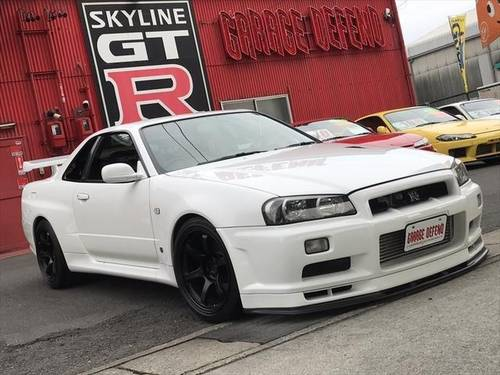 NISSAN SKYLINE GT-R (2000) 2600cc (BNR34) from JAPAN For Sale (picture 1 of 6)