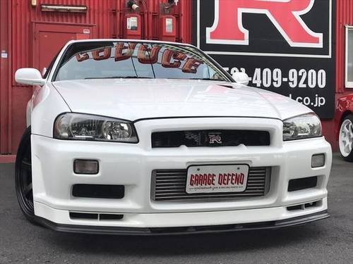 NISSAN SKYLINE GT-R (2000) 2600cc (BNR34) from JAPAN For Sale (picture 2 of 6)