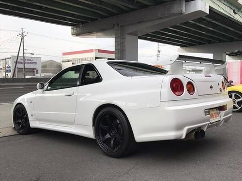 NISSAN SKYLINE GT-R (2000) 2600cc (BNR34) from JAPAN For Sale (picture 4 of 6)