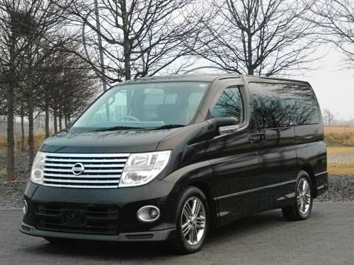 2005 NISSAN ELGRAND E51 3.5 VG AUTOMATIC * 6 7 8 SEATER G30 PEARL For Sale (picture 1 of 6)